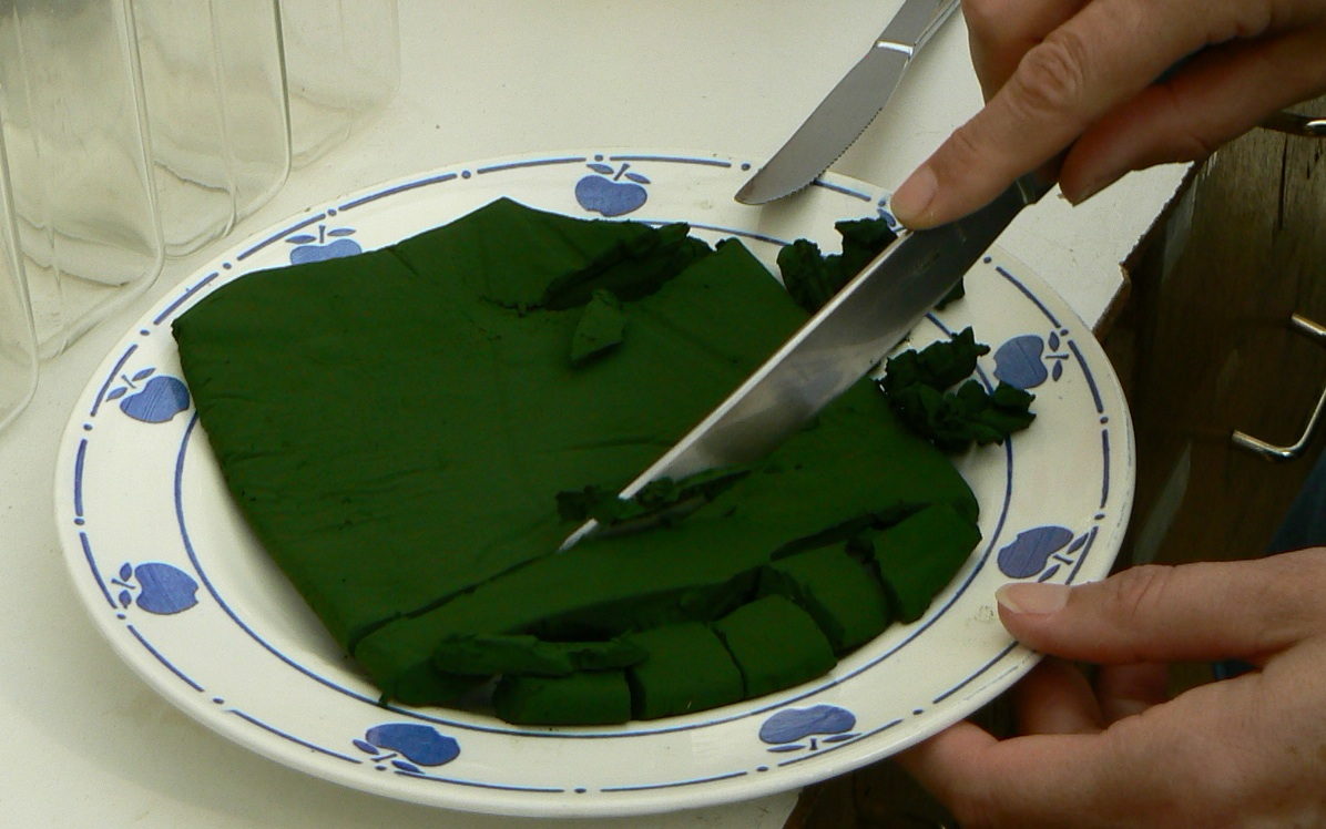 Pressed spirulina FRESH